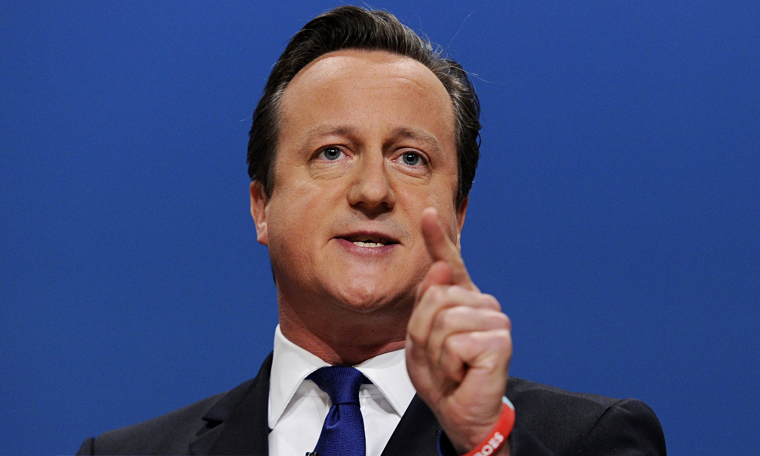David Cameron Source: http://www.theguardian.com/commentisfree/2014/oct/01/david-cameron-election-starting-gun-speech