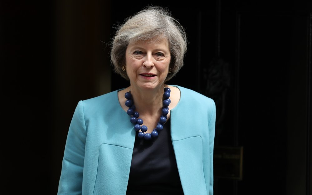British Prime Minister Theresa May. Source:  newstatesman.com