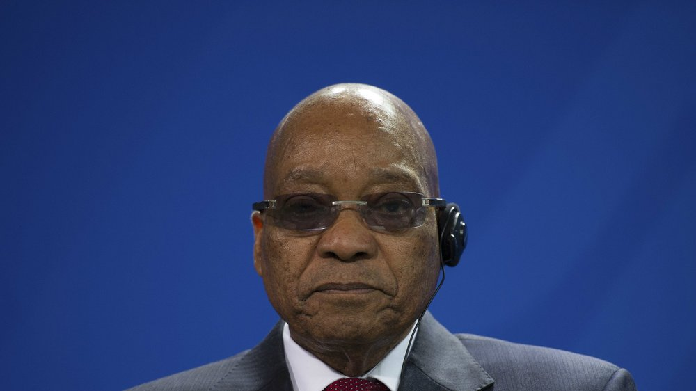 South African President Jacob Zuma. Source: qz.com (Reuters/Stefanie Loos)