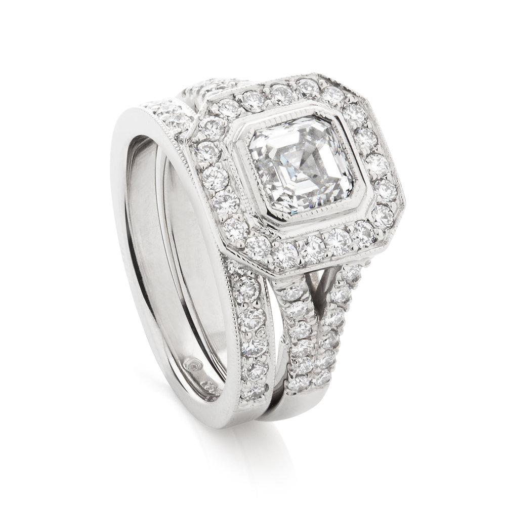 aschercur engagement ring with wedding band.jpg