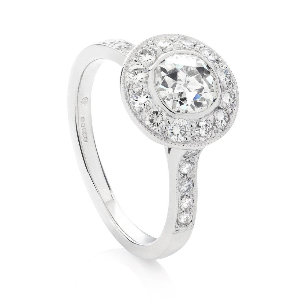 old cut diamond with surreound.jpg