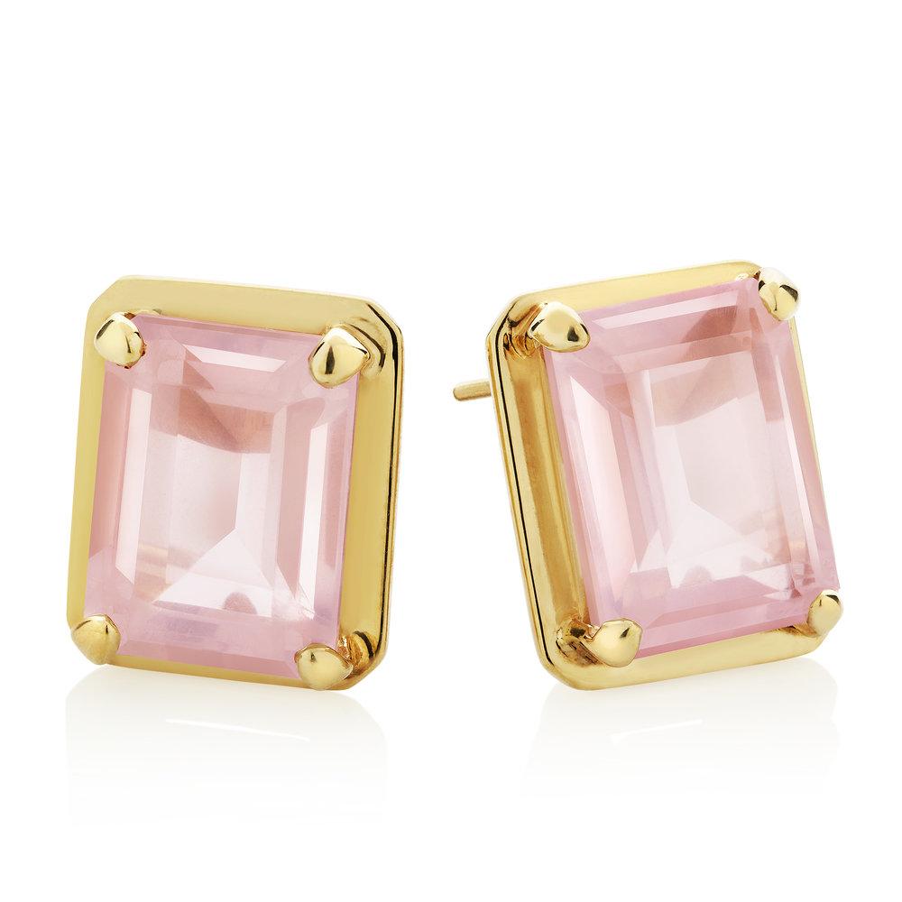 Rose quartz vermeil earrings.jpg