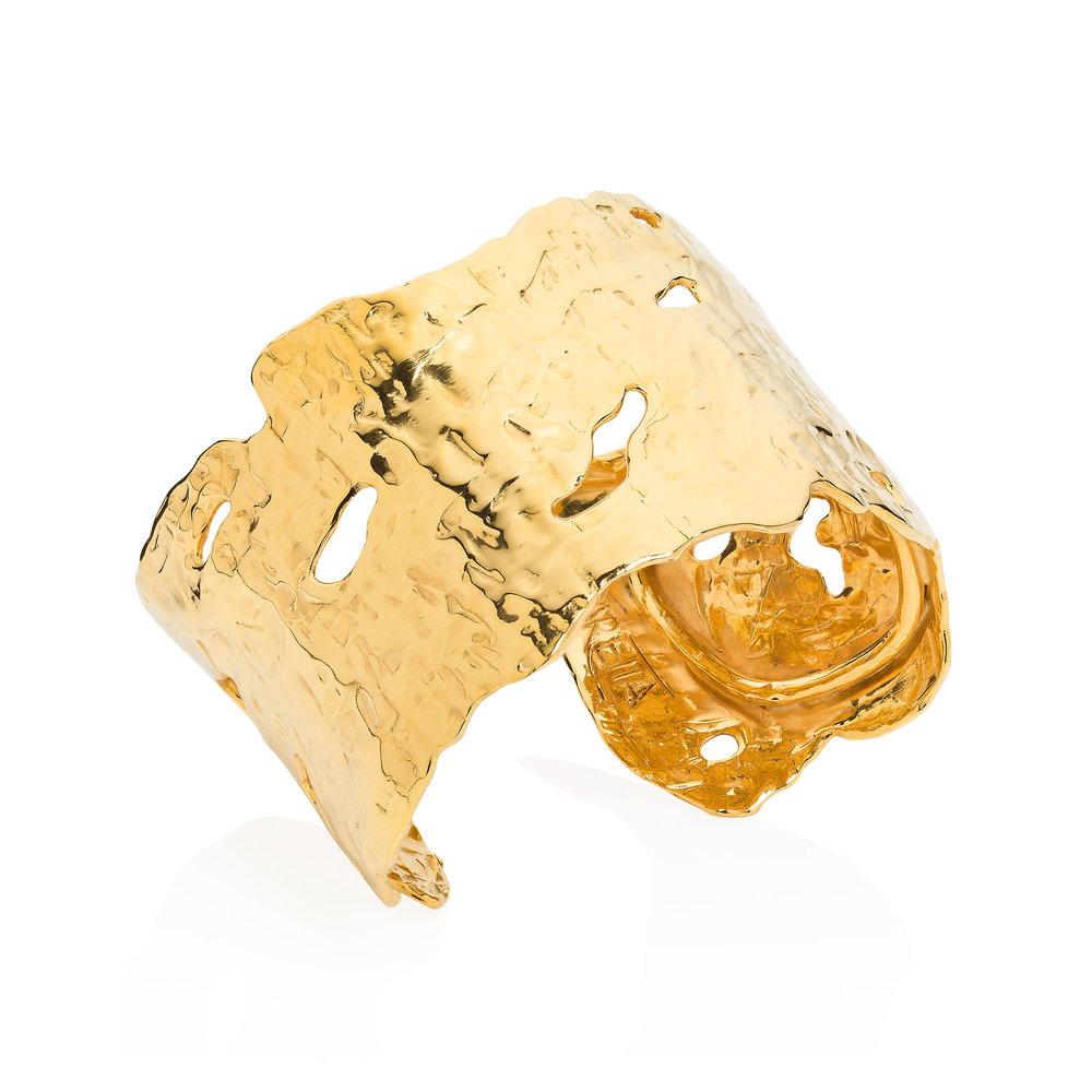 Large Lava Gold Wrist Cuff.jpg