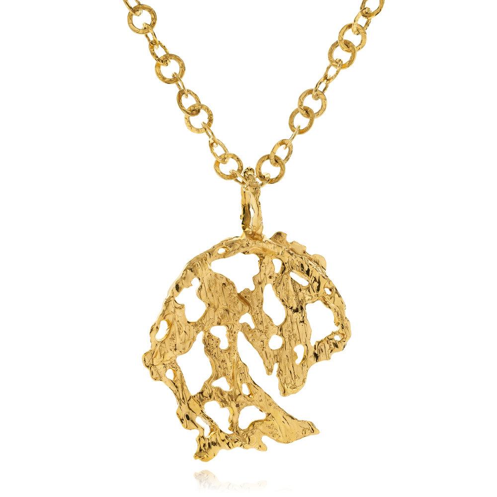 Oversized Lava Gold Pendant.jpg