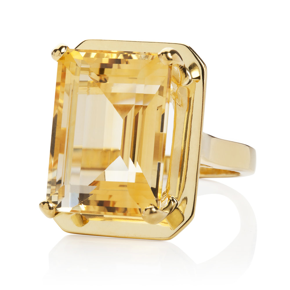Whiskey Citrine vermeil cockatil ring.jpg
