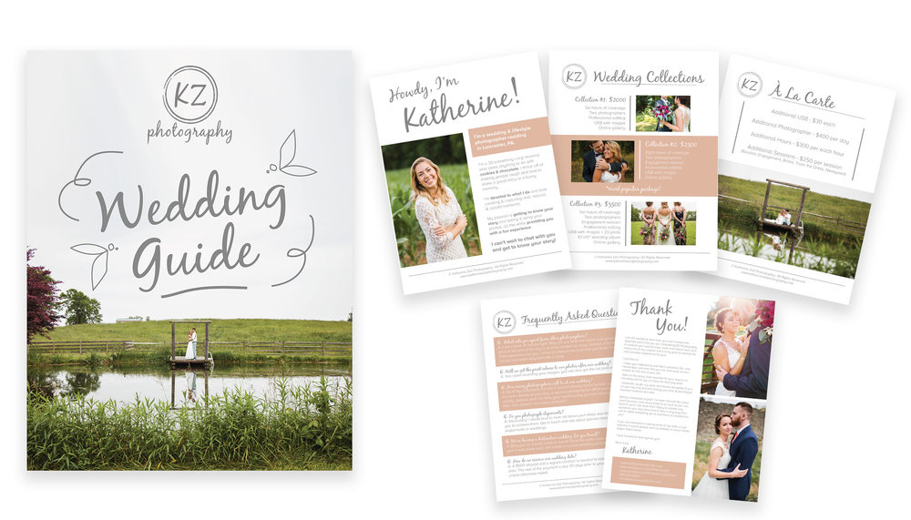 KATHERINE ZELL PHOTOGRAPHY: COLLATERAL DESIGN
