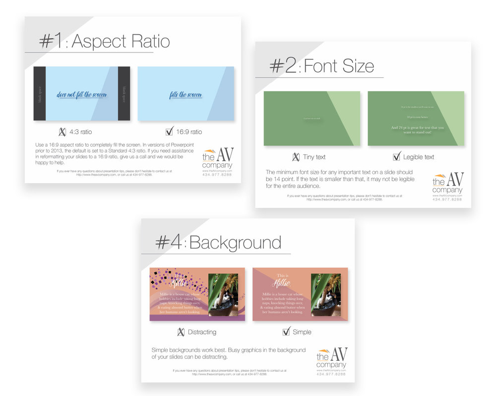 THE AV COMPANY: CLIENT RESOURCE DOCUMENT DESIGN