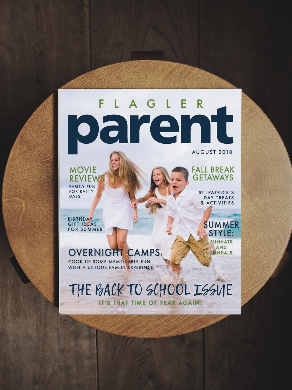 CE Studios: Branding, brand refresh, cover product design for parents' magazine