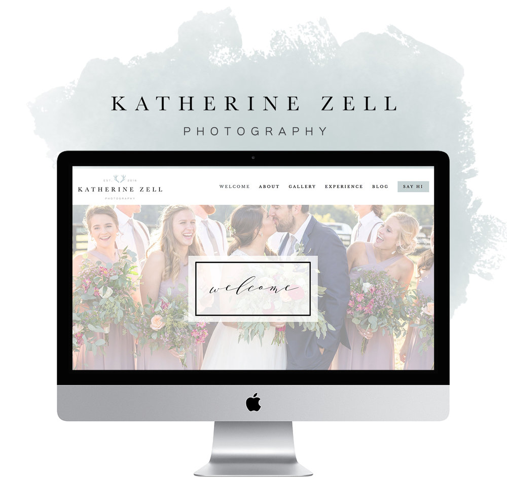 CE Studios: Wedding photographer website design Squarespace