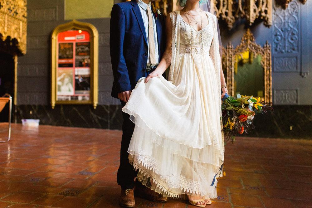 Handmade Wedding Dress, Los Angeles