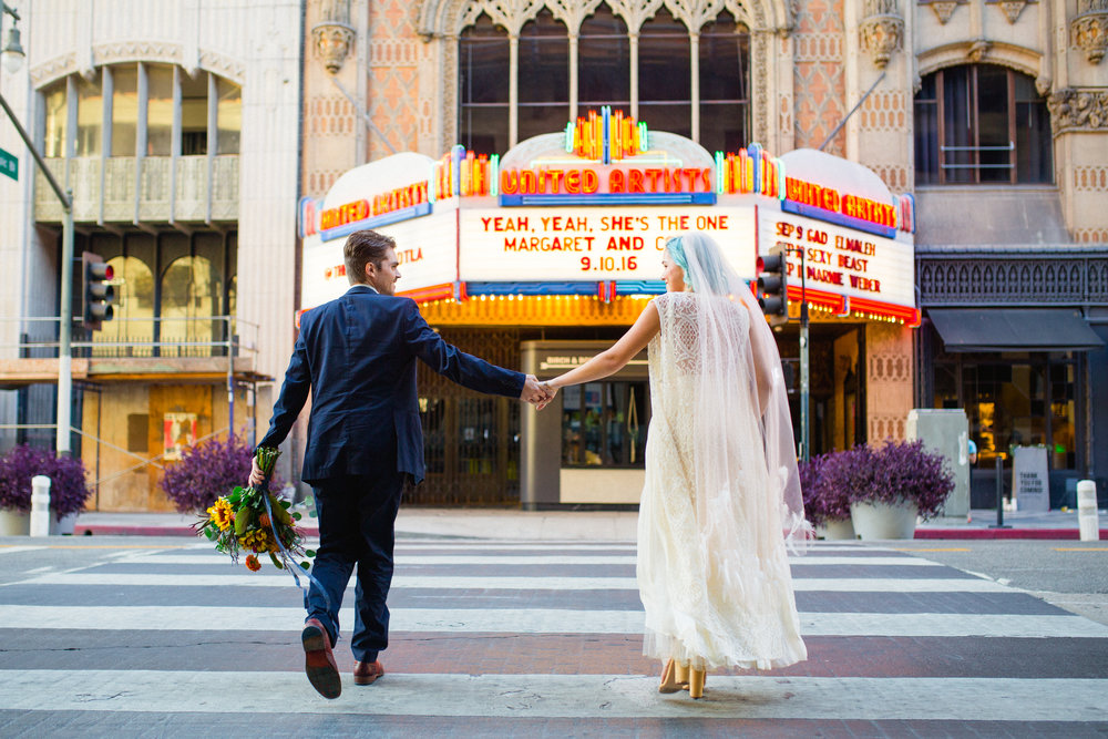 Downtown Los Angeles Wedding
