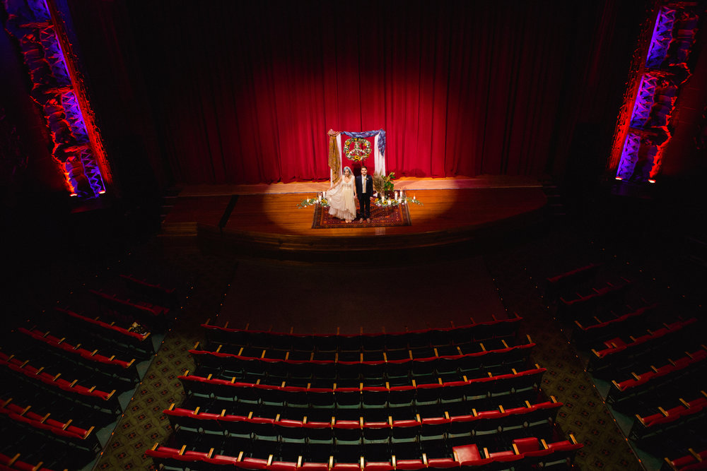 Ace Hotel Theater Wedding