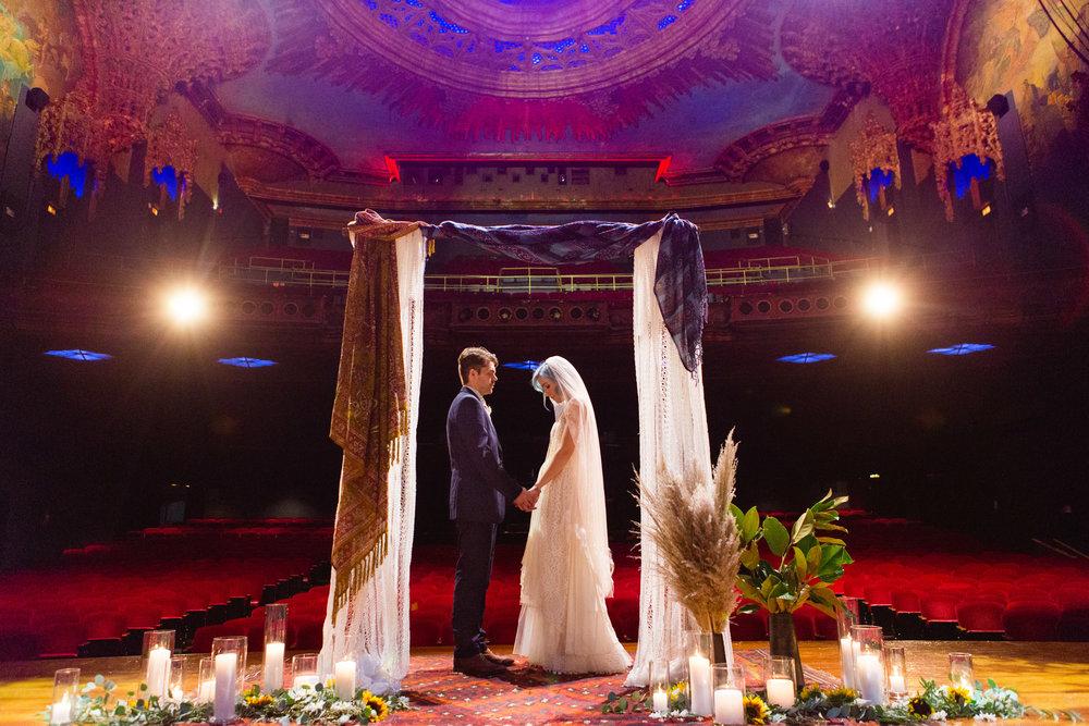 Theater Wedding Los Angeles