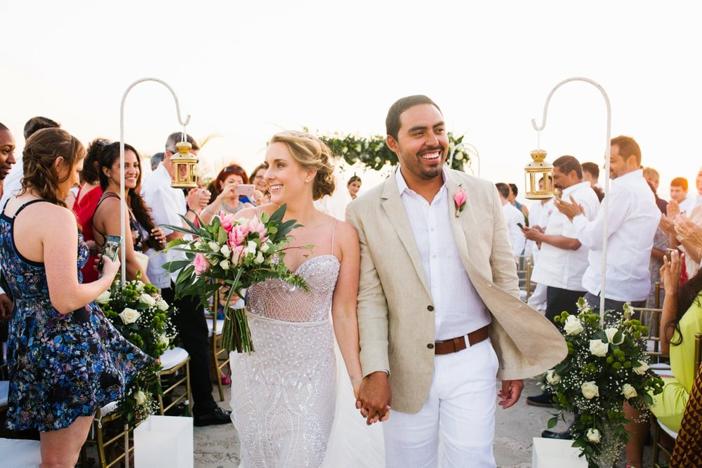 Cartagena Cafe del Mar Wedding