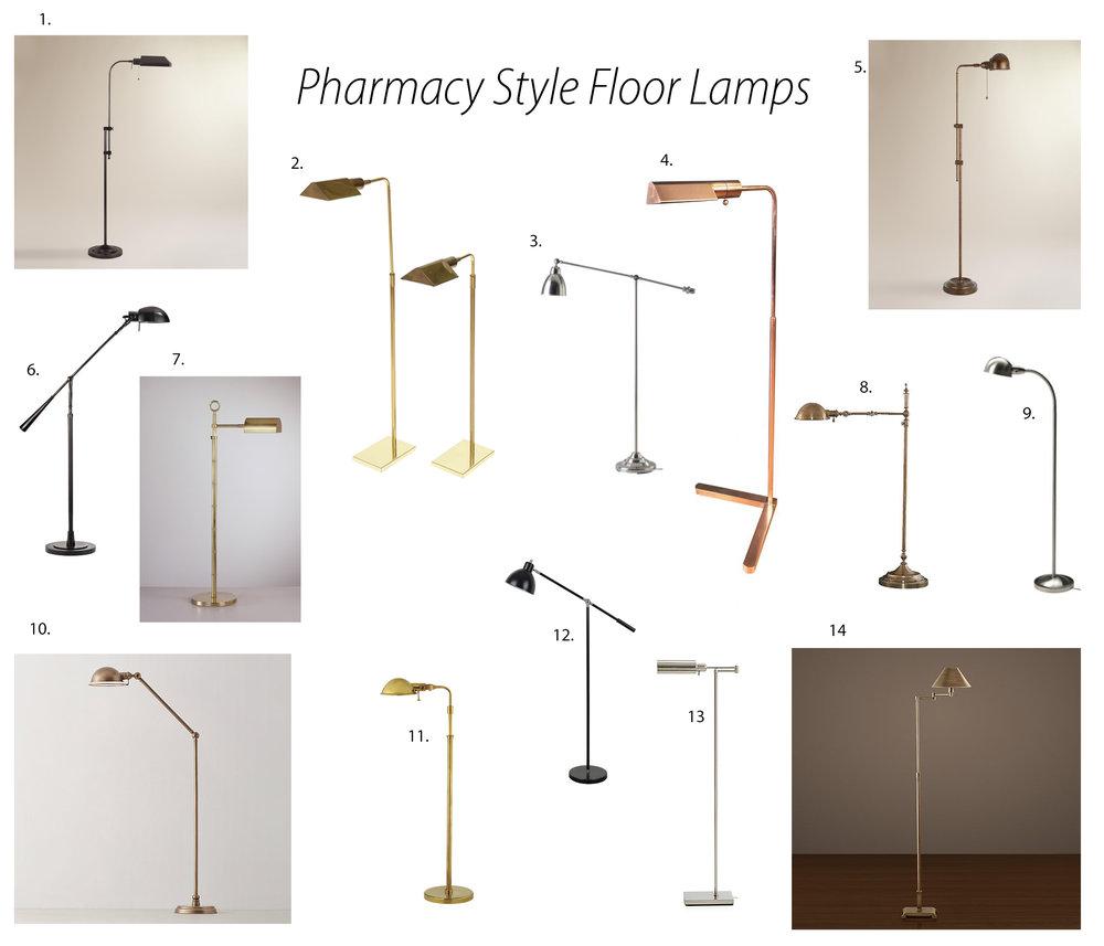 Pharmacy-style-floor-lamps
