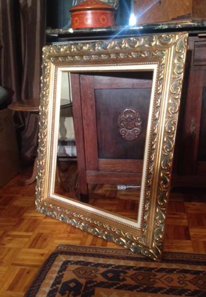 Estate-sale-vintage-gold-frame.jpg