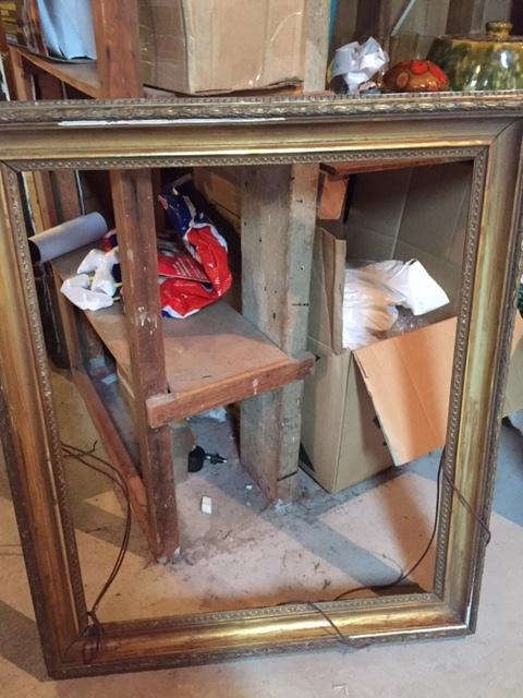 Estate-sale-vintage-gold-picture-frame.JPG