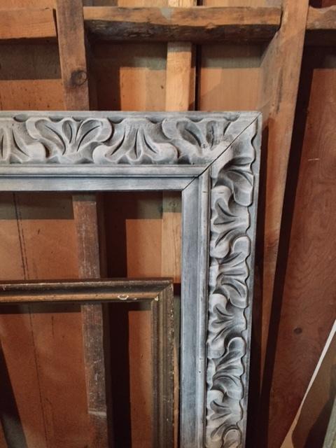 Estate-sale-vintage-wooden-frame.JPG
