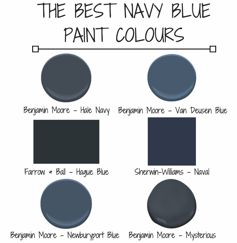 THE BEST NAVY BLUE PAINT COLOURS U2014 KELLY BOYD DESIGN | Montreal Based  Interior Design Firm