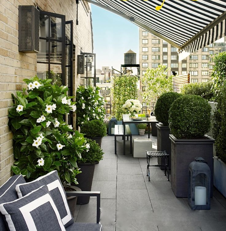Black White City Balcony Refresh Kelly Boyd Design