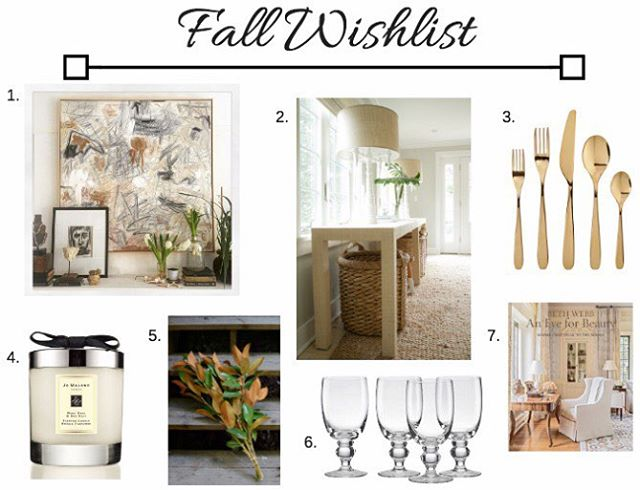 I'm planning some fall decor changes (mostly realistic with a few dream items 😂). You can see my full wish list on the blog! (link in profile)