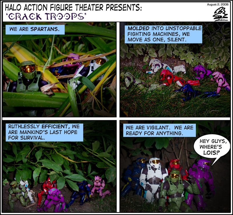 Halo Action Figure Theater.