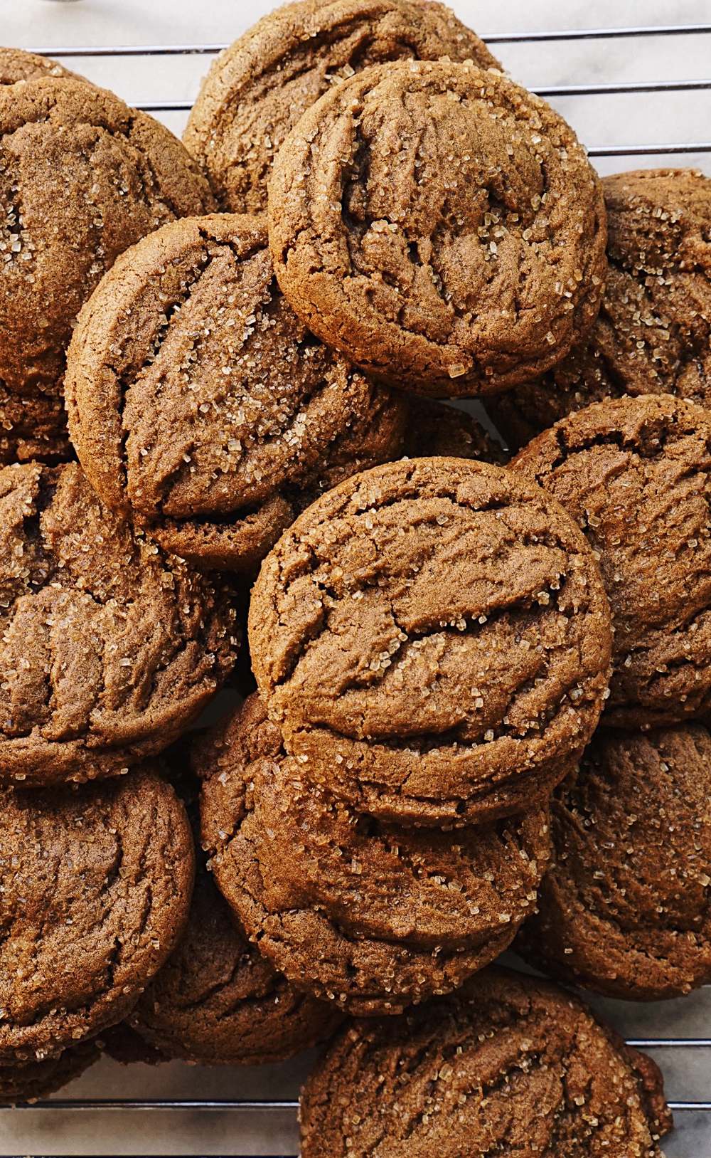 Ginger Molasses Cookies Amanda Frederickson