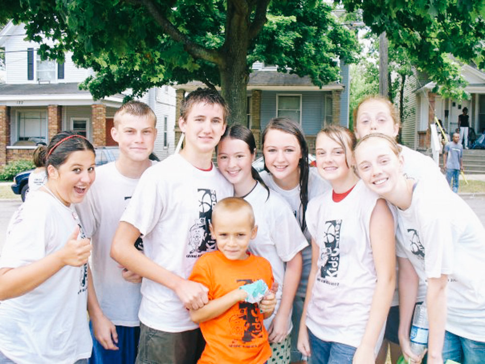Some of the team from our Grand Rapids missions trip (2007).