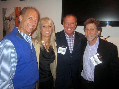 Stuart Russo, Bev Bilmes, Alan Biren, Mitch Kaplan 45th Reunion