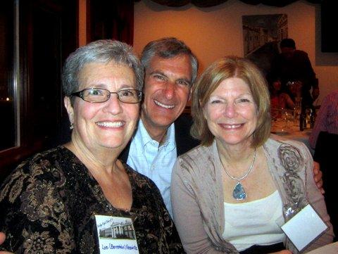 Lois Bernstein, Rich Wasch, Marcie Nebenzhaler 45th Reunion