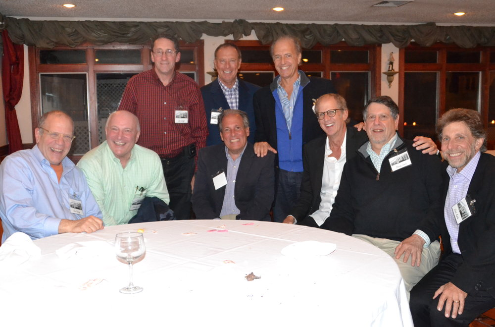 Seated: Kenny Jacoby, Johnny Wagner, Steve Bilsky, Larry Gordon, Barry Lewis, Mitch Kaplan Standing: Bobby Soloff, Alan Biren, Stuart Russo 45th Reunion