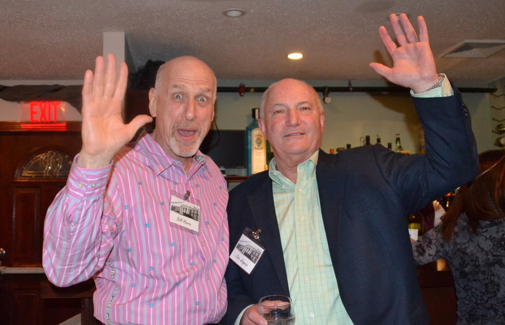 Billy Harra, John Wagner, 45th Reunion