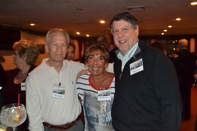 Steve Joseph, Judy Roseman, Barry Lewis 45th Reunion