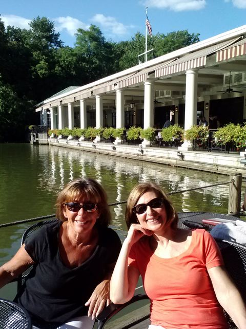 Judy Roseman and Deedee Schure in Central Park, NYC, 2012