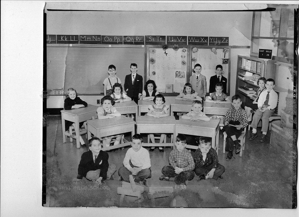 Daniel Miner's first grade class
