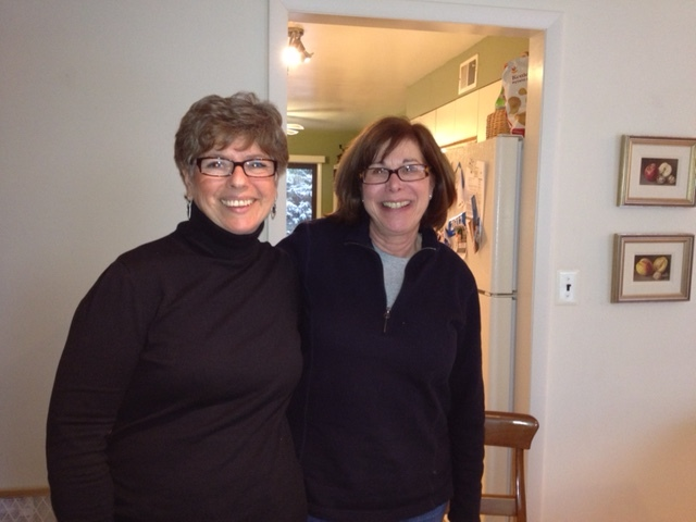 Janet Kern Mendelsohn and Carol Slutsky Ziff circa 2013
