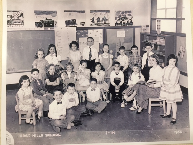 East Hills School, First Grade, 1956