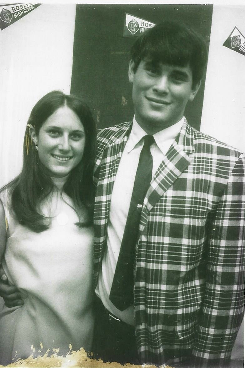 Margie Sternin and Mitch Bloomberg at Senior Day 1967