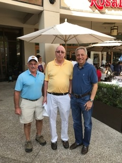 Alan Pasnik, Jeff Wasserman, Richie Auerbach in Aventura, Florida