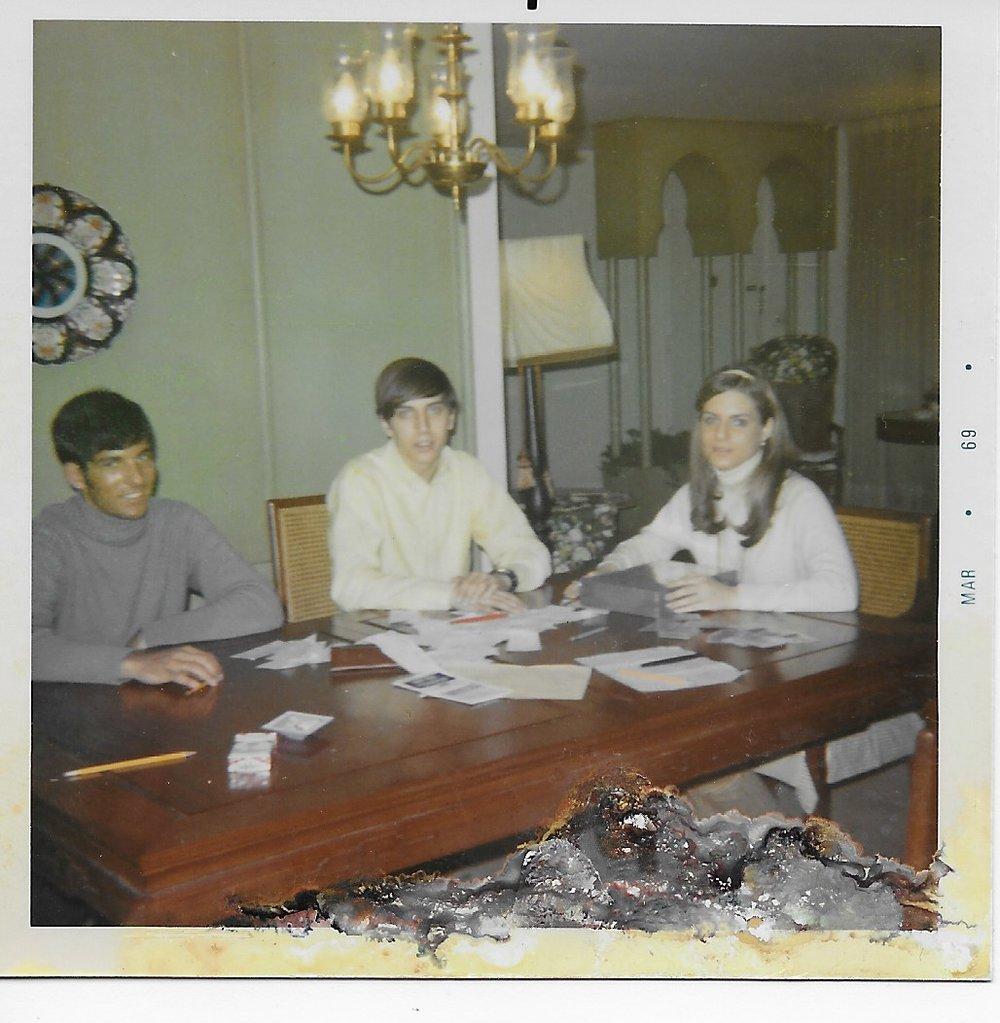 Steve Bilsky, Richie Auerbach, Lisa Teitel, 1969