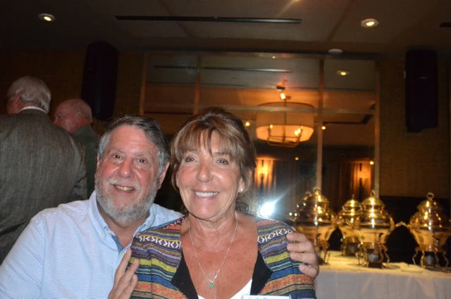 Barry Lewis and Judy Roseman Caragher - friends for life