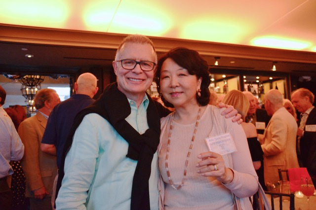 Mark Kingdon and his wife, Anla Cheng