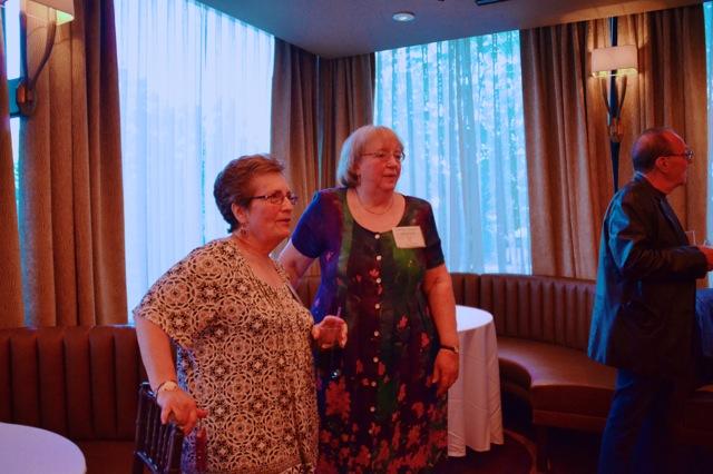 Lois Bernstein Nosowitz and Linda Crane Bonin