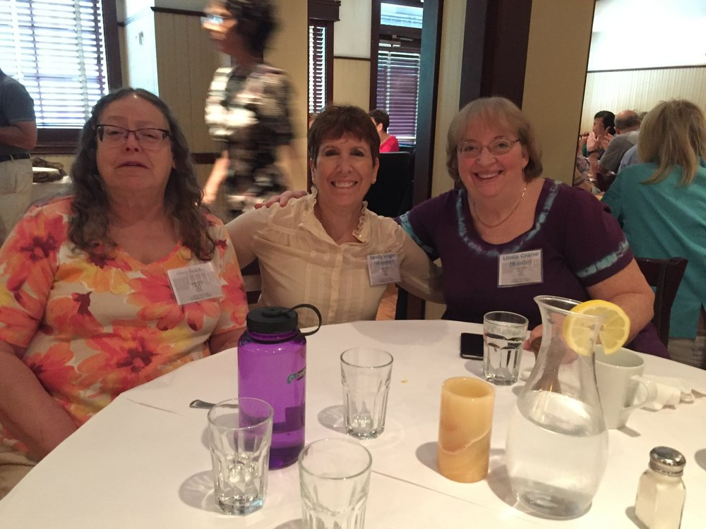 Nancy Zucker, Sandy Unger Wunder, Linda Crane Bonin