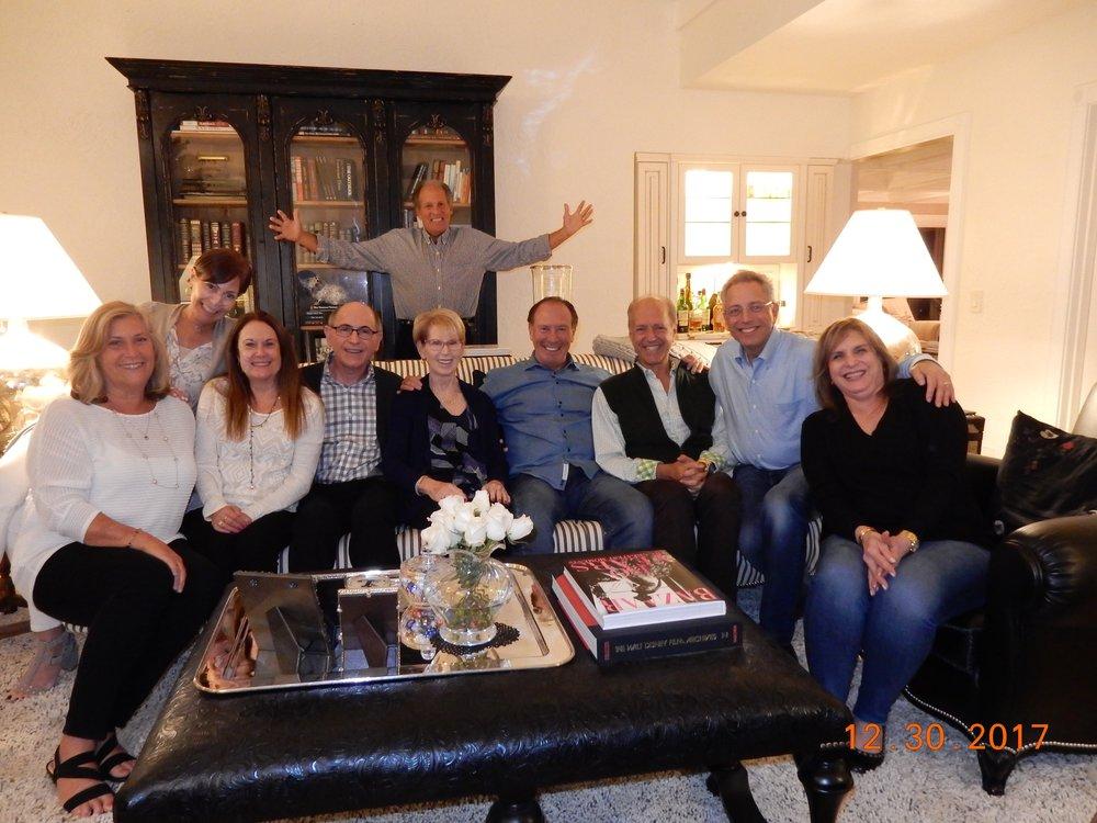 RHS friends for dinner, December 2017