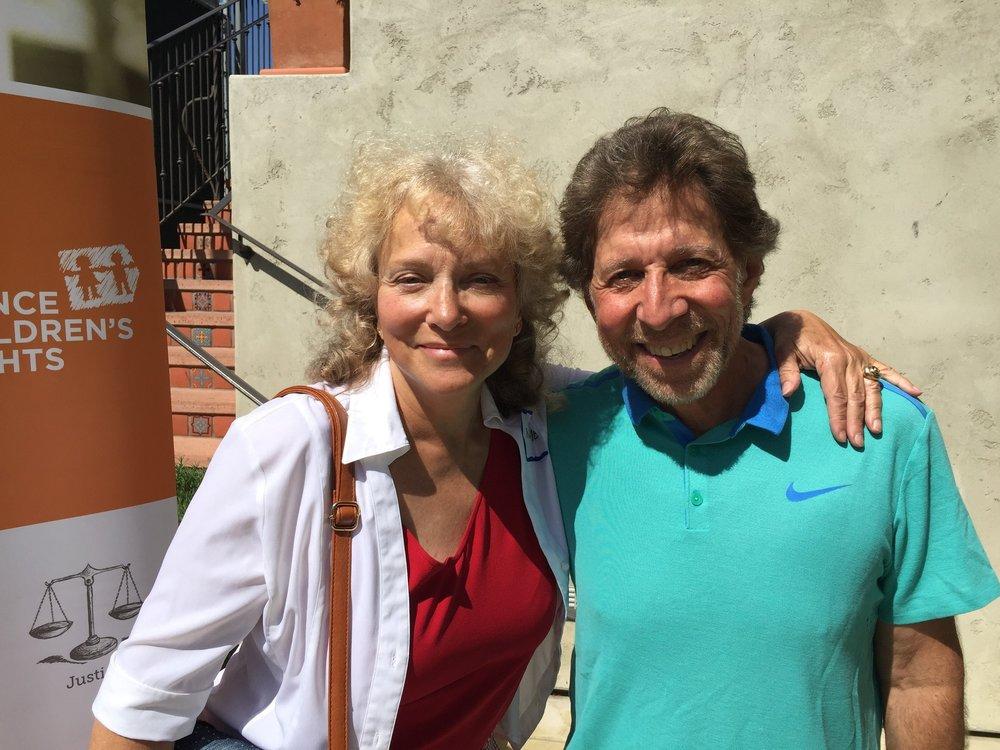 Nancie Brecher and Mitch Kaplan, Los Angeles, November 2017