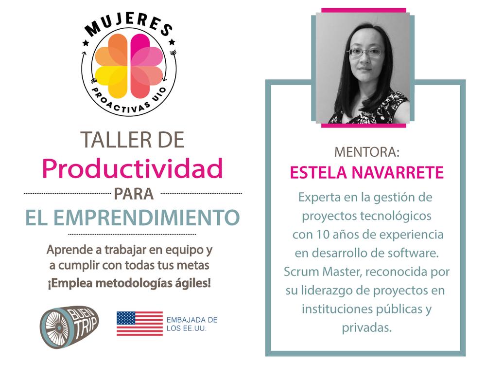 Copy of Taller de Productividad para emprendimiento