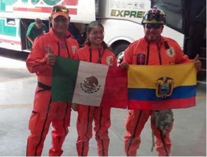 Brigada Topos Aztecas de Nayarit / Foto: Karla Vanessa Méndez López.