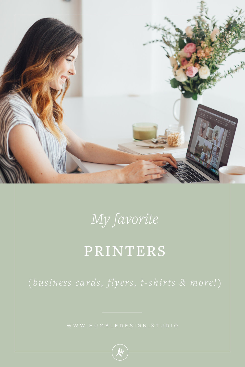 My favorite printers for business cards, flyers, t-shirts and more