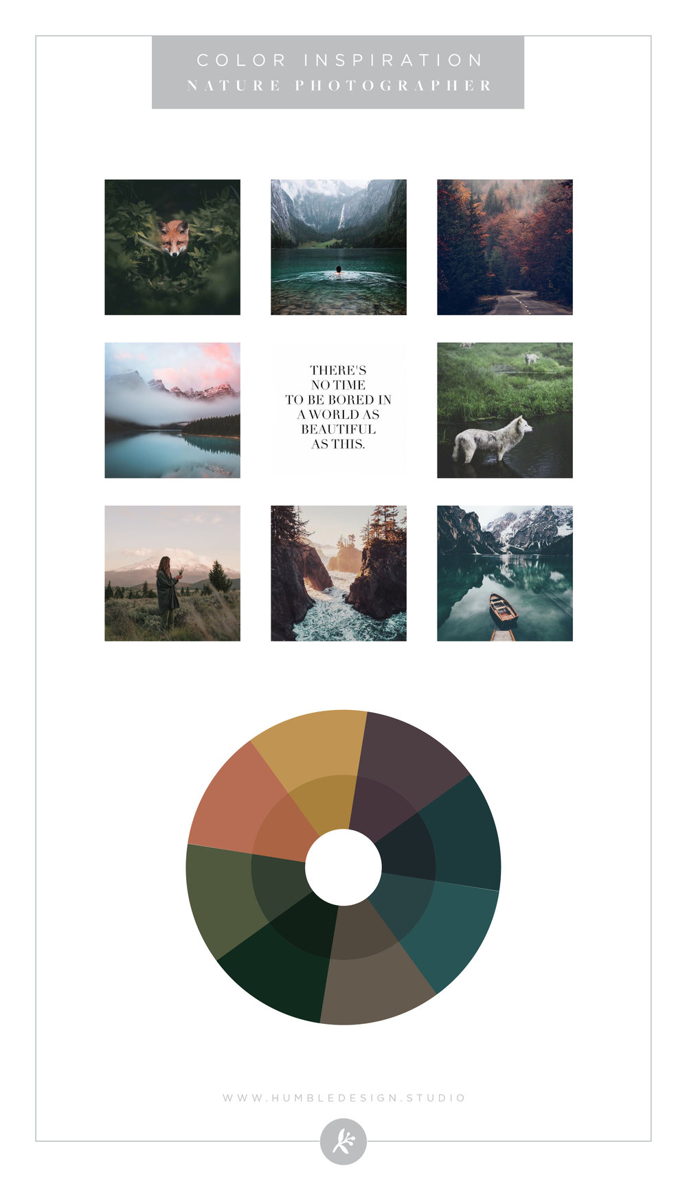 Nature Photographer Color Palette Inspiration